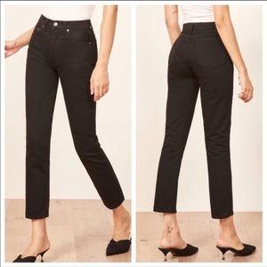 Reformation Julia Crop high cigarette Jeans